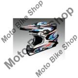 MBS SHOEI MX HELM VFX-W BLOCK PASS TC-2, blau/rot, S=55-56, 15/115, Cod Produs: 1406174SAU
