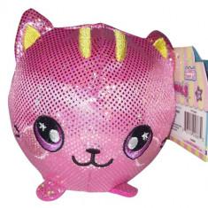 Jucarie Squishy Pufoasa din Plus cu Revenire Lenta Pisica Sherri 9 cm