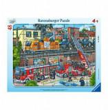 Puzzle Ravensburger - Misiune de salvare pompieri, 48 piese