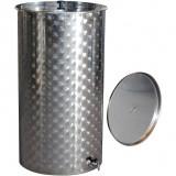 Cisterna inox Vitimag 300 L cu capac flotant - ulei de parafina