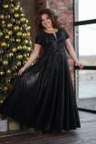 Rochie lungă din matreial strălucitor