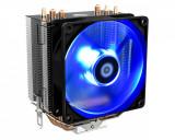 Cooler CPU ID-Cooling SE-903 V2 iluminare albastra