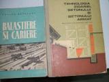 BALASTIERE SI CARIERE T. MATASARU ED T. 1958