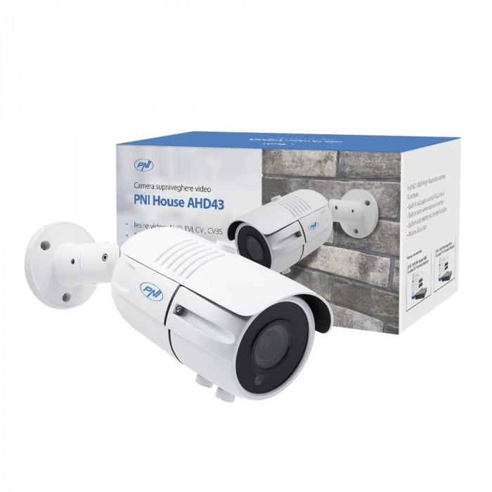 Aproape nou: Camera supraveghere video PNI House AHD43 Varifocala 2.8-12mm, senzor