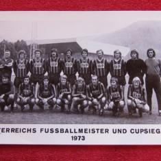 Foto (veche) - echipa de fotbal SWAROVSKI WACKER INNSBRUCK(Austria 1973)
