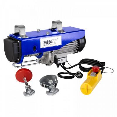 Macara electrica (electropalan) 800 kg, 1300W PROLIFTOR 800 MSW foto