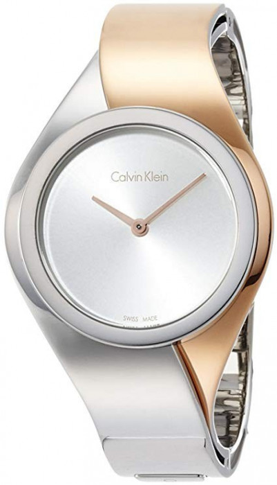 Calvin Klein Senses Silver Dial Ladies Watch K5N2S1Z6