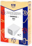 Sac aspirator Daewoo RC300, hartie, 5X saci, KM