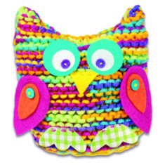 Set de tricotat - Bufnita, Galt
