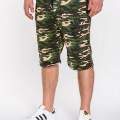 Pantaloni scurti pentru barbati, army, stil militar, camuflaj - w001