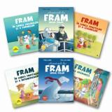 Pachet Fram/Adrian Barbu, Alexandra Abagiu, Irina Forgaciu, Iulia Burtea, Anca Stanescu, Curtea Veche, Curtea Veche Publishing
