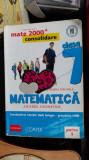 MATEMATICA ALGEBRA GEOMETRIE CLASA A VII A NEGRILA PARTEA I