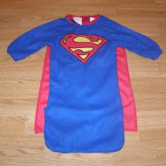 Costum carnaval serbare superman pentru copii de 6-9 luni, Din imagine