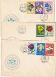 Romania 1970,FDC, Flora , Flori de Stepa