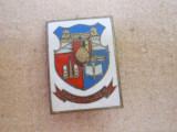 Insigna stema Tg. Mures, RSR