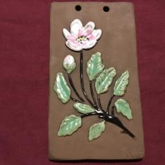 Arta si Design - Placa din ceramica handmade semnata de Ninnie Forsgren !