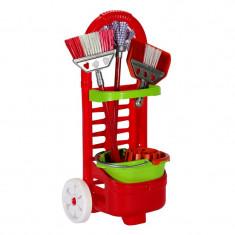 Jucarie set de curatenie pentru copii, 28 x 18 x 52 cm, 3 ani+