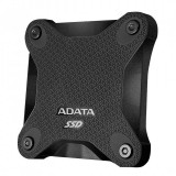 Ssd extern adata sd600 2.5 256gb usb 3.1 r/w speed: up to 440/430 mb/s negru