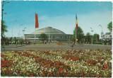 (A) carte postala(1134/3)-Bucuresti- Pavilionul central de expozitie-KRUGER, Necirculata, Printata