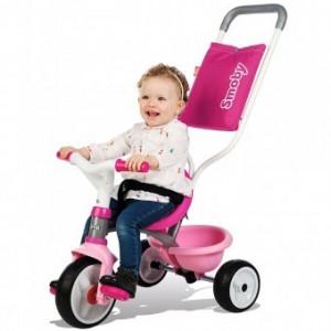 Tricicleta Pentru Copii Smoby Be Move Comfort - Roz