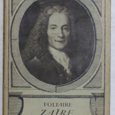 ZAIRE - tragedie par VOLTAIRE , 1935