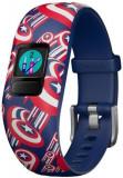 Bratara Fitness Garmin Vivofit Jr.2, Bratara reglabila, Avengers, Bluetooth (Albastru)