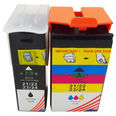 Cartuse cerneala  Dell seria 21 (1xN, 1xColor) Toner Kingdom