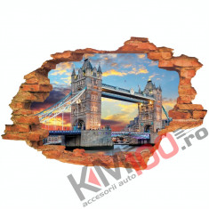 "Sticker ""Wall Crack"" Londra 7 - 120 x 80 cm"