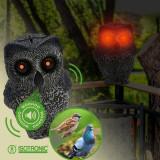 Aparat anti daunatori bufnita solara Bird Scarer, Oem
