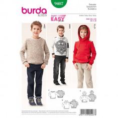 Tipar pulover Burda Style 9407