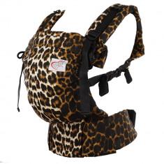 Marsupiu ergonomic SSC Happy Hug, Baby(+1luni) - Panther