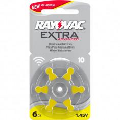 Baterii Pentru Proteze Auditive RAYOVAC 10 PR70 Zinc-Aer 6 Baterii / Set