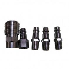 Set conectori pentru scule pneumatice 5 buc, Geko G01580 Mania Tools