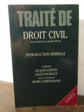 TRAITE DE DROIT CIVIL INTRODUCTION GENERALE-J.GHESTIN