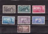 ROMANIA 1928  LP 81 - 10 DE  ANI DE LA UNIREA DOBROGEI  SERIE  STAMPILATA