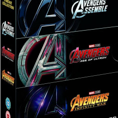 Filme Marvel Avengers DVD BoxSet Complete Collection, Engleza, independent productions