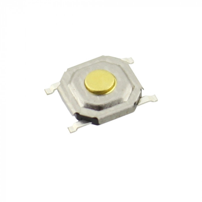 Push buton 5x5mm, inaltime 1,4mm, SMT - 124209