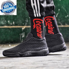 Ghete  Originale  100%  NIKE Jordan AIR JORDAN Future black  Unisex  nr 37.5