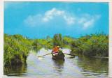 bnk cp Vedere din Delta Dunarii - circulata - marca fixa