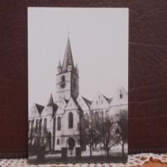 RPR - SIBIU - CATEDRALA EVANGHELICA - 1965 - NECIRCULATA, CU STAMPILA SPECIALA