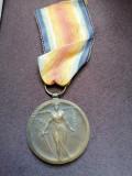 Medalia Victoria Marele Razboi pentru civilizație Primul Război Mondial