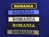Efecte militare - Emblemă textilă - Embleme pentru diferite ținute - ROMÂNIA
