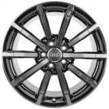 "Janta Aliaj Oe Audi 18"" 8J x 18 ET46 Negru Mat Titan 8V0601025AR, 5"