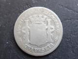 SPANIA - 1 PESETA 1869 - (Argint ) (41), Europa