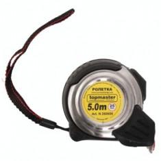 Topmaster Profesional Ruleta metalica dublu stop 8 m x 25 mm
