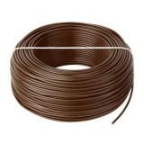 Cumpara ieftin Cablu litat cupru tip LGY, 1.5 mm, 100 m, Maro