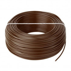 Cablu litat cupru tip LGY, 1 mm, 100 m, Maro