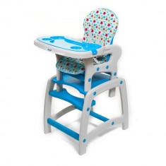 Husa pentru scaun de masa Juju Eat&Play Albastru