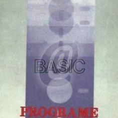 Basic - Programe de instruire (Ed. Stiintifica si Enciclopedica)