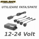 Senzori de parcare spate sau fata STEELMATE PTS411EX fara display alimentare 12-24v CarStore Technology
